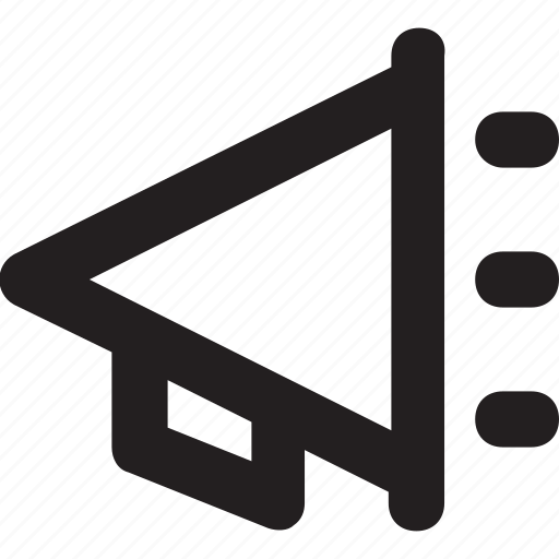 Advert, advertisement, announcement, bullhorn, loudhailer icon - Download on Iconfinder