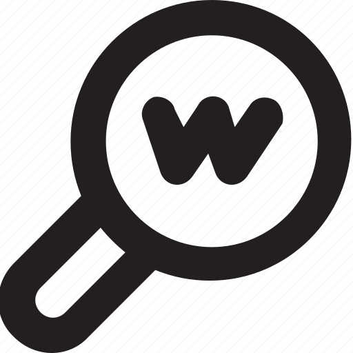 domain, internet, search domain, website, www icon