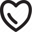 heart, love, love heart, love sign, romance icon