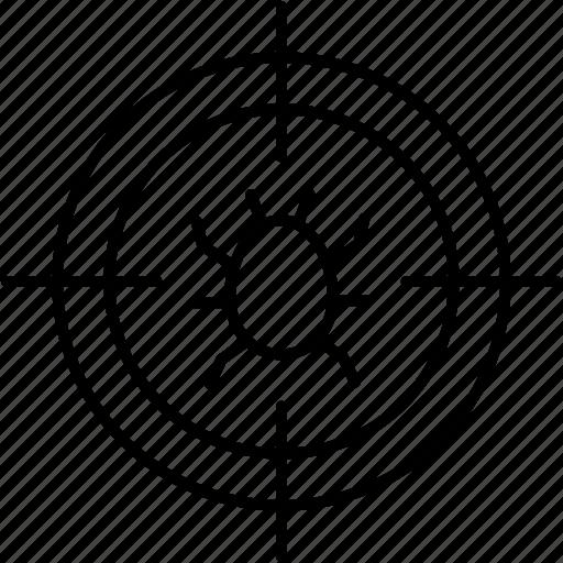 bug, code, coding, error, fixing, repair, warning icon