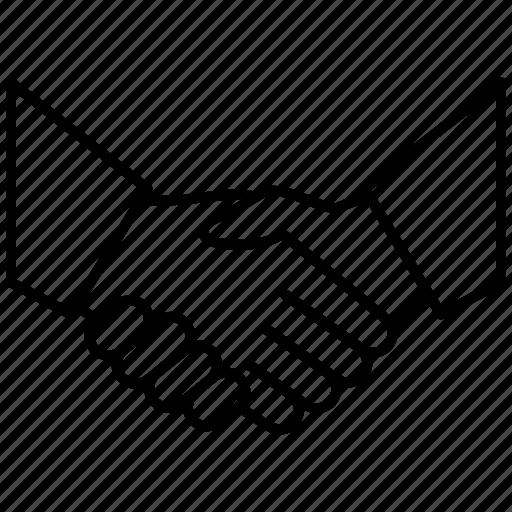 agreement, business, cooperation, hands, handshake, partnership icon