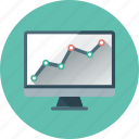 analysis, analytics, graph, monitoring, seo, seo monitoring, statistics icon
