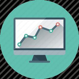 analysis, analytics, graph, monitoring, seo, seo monitoring, statistics icon