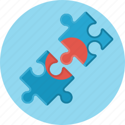 business, game, partners, puzzle, solution icon