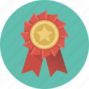 badge, rank, label, prize, medal, star, winner