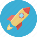campaign, launch, mission, rocket, spacecraft, spaceship, startup icon
