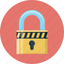 lock, locked, padlock, password, protection, safe, security icon