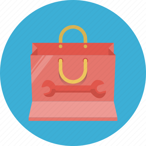 bag, package, seo packege, service, service package, shopping icon