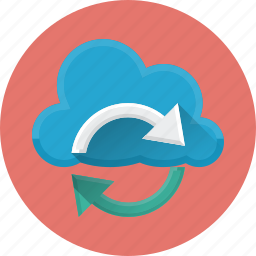 cloud, data, exchange, reload, server, sync, update icon