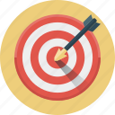 aim, business goal, dart, goal, success, target, targeting icon