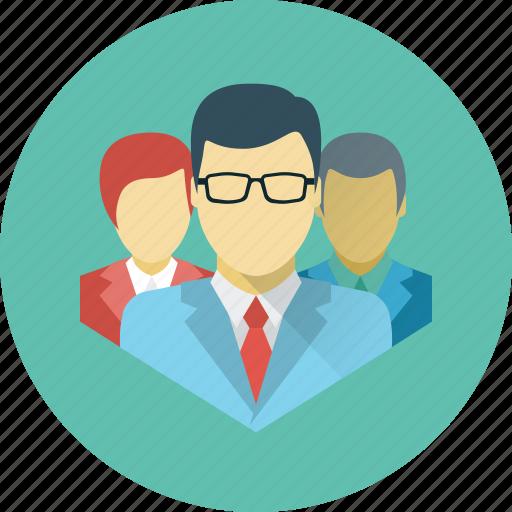 brigade, business, command, crew, media, social, team icon