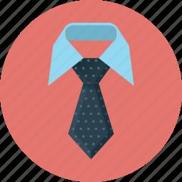 business, presentation, tie, vip icon