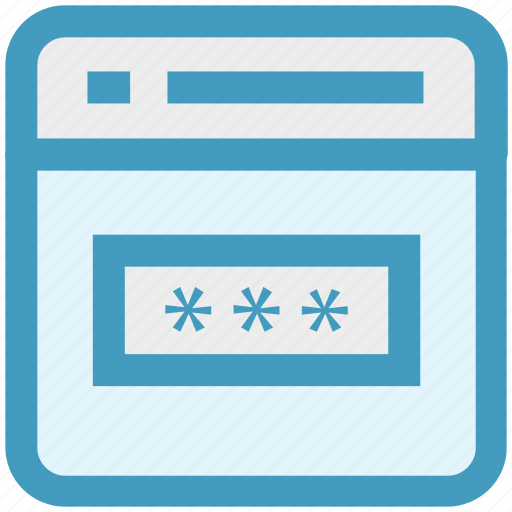 code, login, page, password, seo, web page, website icon