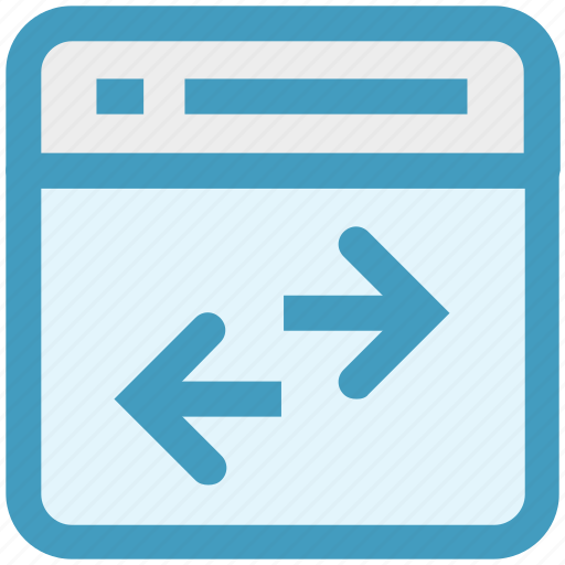 arrows, exchange, page, seo, sharing, web page, website icon