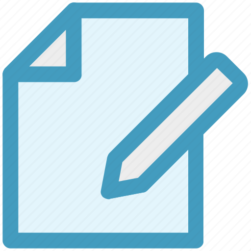 content writing, marketing, page, paper, pencil, seo, write icon