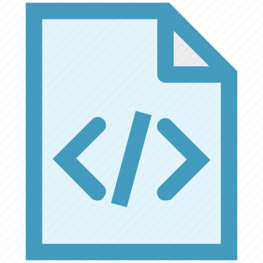 code, document, html, page, paper, programming, seo icon