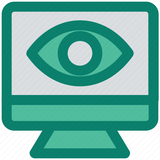 eye, lcd, monitor, optimization, preview, seo, site icon