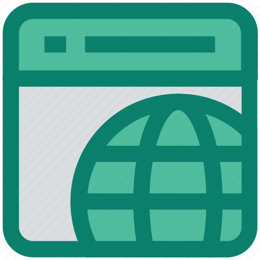 browser, globe, page, seo, web page, website, world icon
