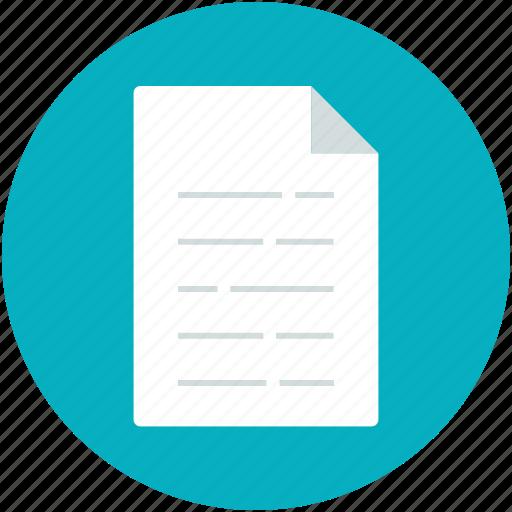 chart, doc, document, list, report icon