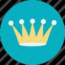 crown, gold crown, headgear, nobility, royal crown