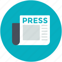 journal, news, newsletter, newspaper, publication icon