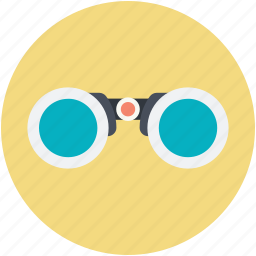 binocular, discovery, magnifying glass, search, vision icon