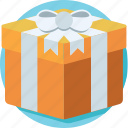 gift, gift box, present, present box, wrapped