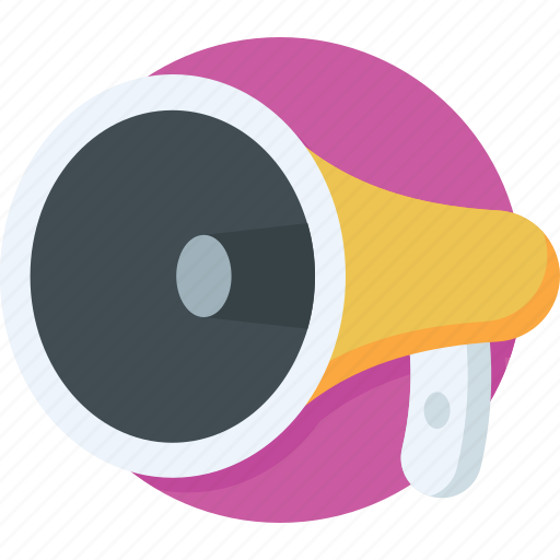 Advertisement, announcement, bullhorn, hailer, megaphone icon - Download on Iconfinder