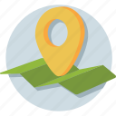 gps, location, map, map pin, placeholder icon