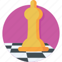 bishop, chess, chess piece, game, strategy icon