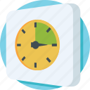 clockwise, deadline, schedule, time, waiting icon
