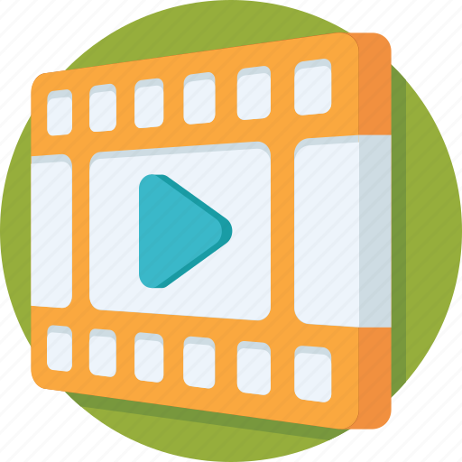 media, multimedia, music player, video, video player icon