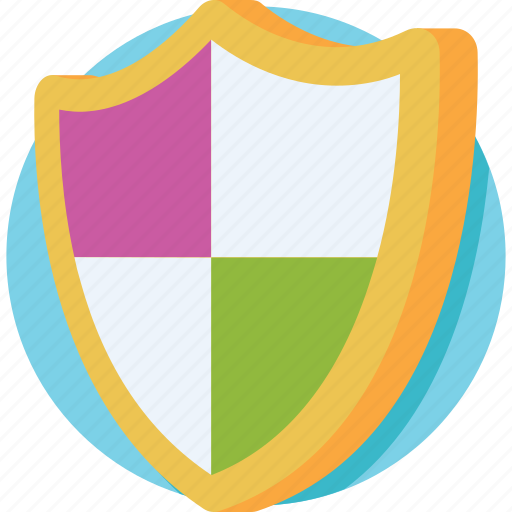 antivirus, protection shield, secure, security, shield icon
