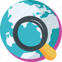 find, find location, globe, map, navigation icon