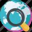 find, find location, globe, map, navigation icon