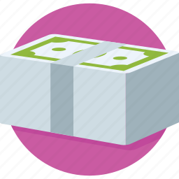 banknote, cash, currency, money, paper money icon