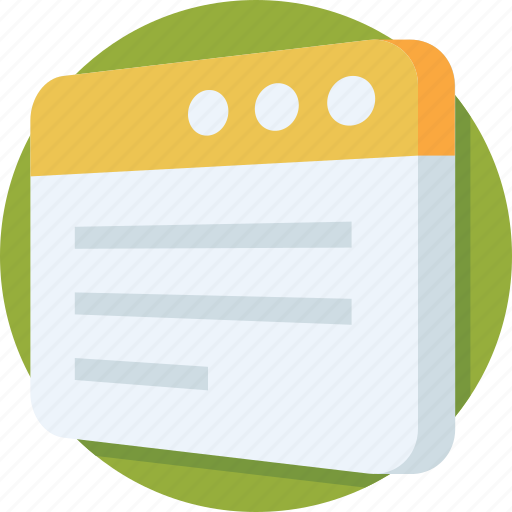 article, browser, web, webpage, website icon