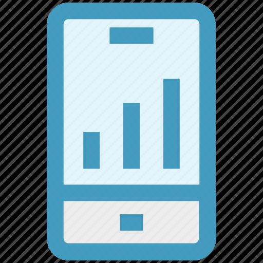 cell, graph, info graphic, mobile, online graph, seo, smartphone icon