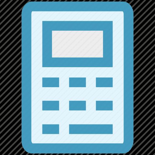 accountant, calculation, calculator, math, numbers, seo icon