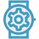 apple watch, gear, marketing, seo, smart watch, time, watch setting icon