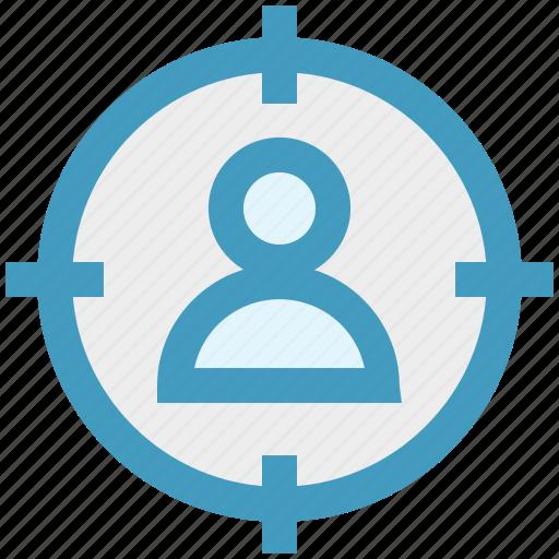 audience, customer target, marketing, target user, user target, web icon