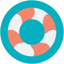 life donut, life ring, lifebuoy, lifesaver, ring buoy icon