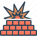 blast, fire, firewall, flame, protection, safety, wall