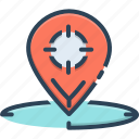 destination, direction, geo, geo targeting, location, navigation, targeting icon