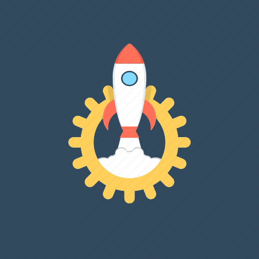 campaign launch, launch project, missile, project management, startup icon