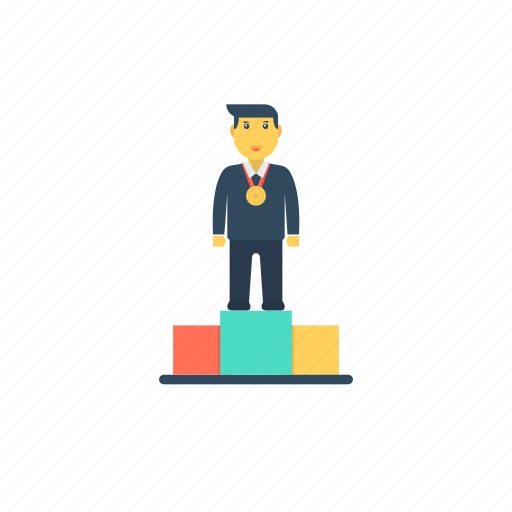 business leaderboard, career advancement, job promotion, success, work promotion icon