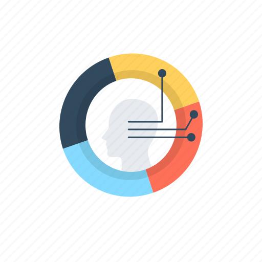 advertising analytics, advertising data, data analytics, data visualization, marketing strategy icon