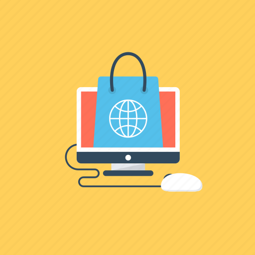 buy online, ecommerce, estore, online shopping, shopping website icon