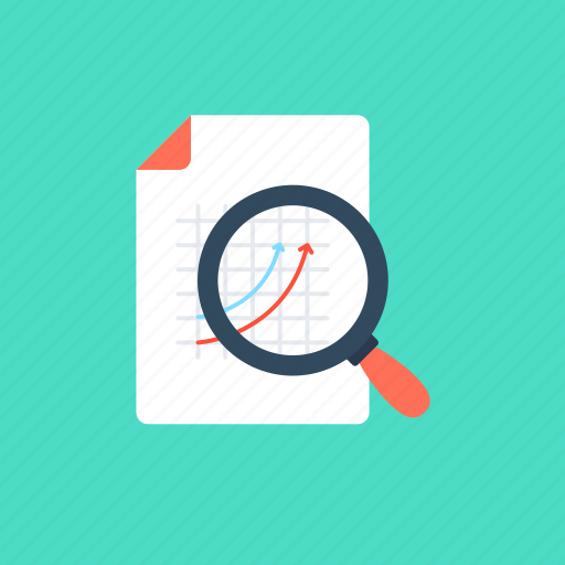 audit research, market research, search graph, seo monitoring, statistical analysis icon