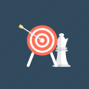 business goals, business strategy, marketing plan, marketing strategy, target marketing icon